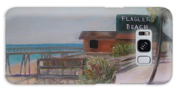 Flagler Beach Galaxy Case