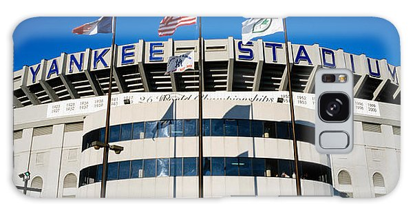 Flags In Front Of A Stadium, Yankee Galaxy Case