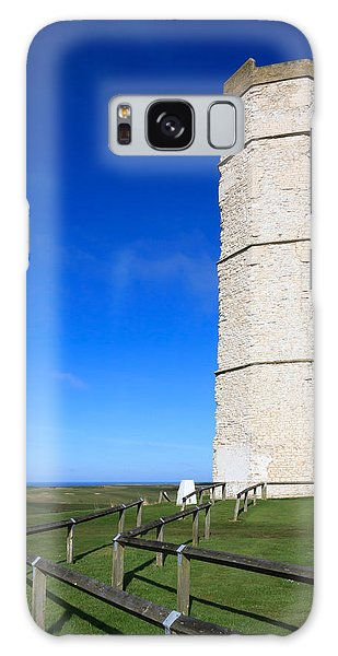 Flamborough Old Lighthouse Galaxy Case
