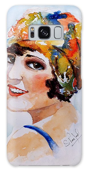 Flappers Girl Galaxy Case