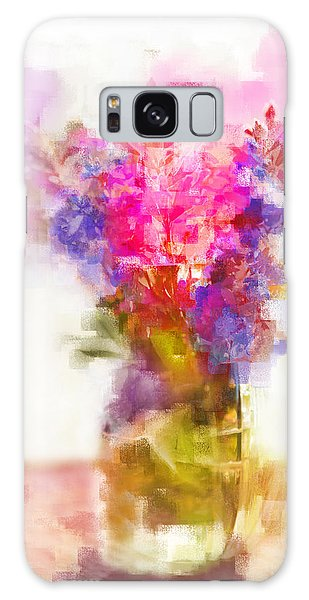 Floral Still Life Galaxy Case by Linde Townsend