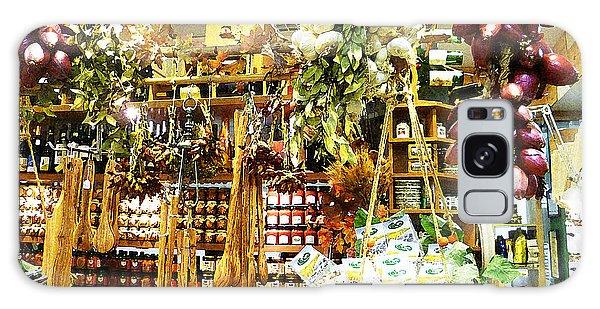 Shelves Galaxy Case - Florence Market by Irina Sztukowski
