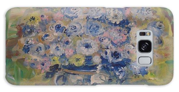 Flow Bleu Galaxy Case by Laurie L