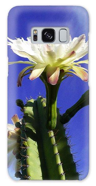 Flowering Cactus 3 Galaxy Case