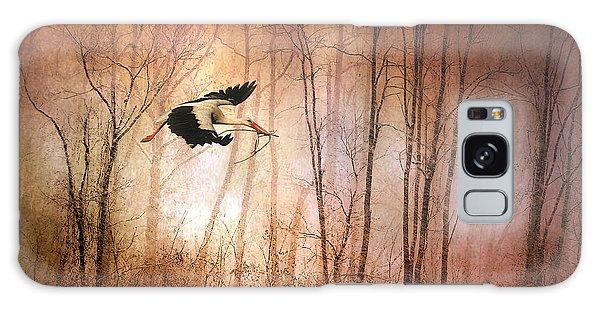 Stork Galaxy S8 Case - Fly Away Home by Jessica Jenney