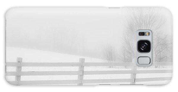 Foggy Winters Day Galaxy Case