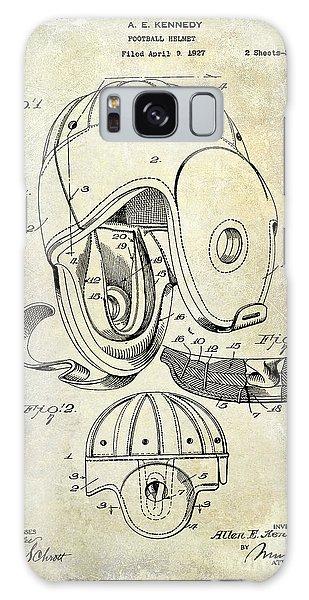 1927 Football Helmet Patent Galaxy S8 Case