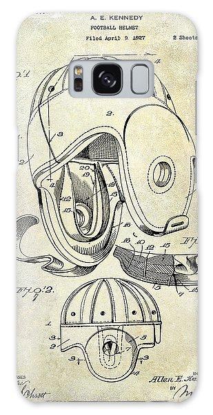Patent Galaxy Case - 1927 Football Helmet Patent by Jon Neidert