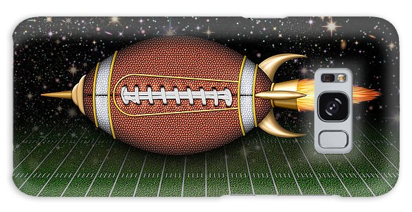 Football Spaceship Galaxy Case