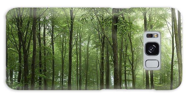 Green Leaf Galaxy Case - Forest... by Leif L??ndal