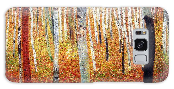 Forest Of Beech Trees Galaxy Case