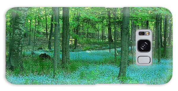 Forget-me-nots In Peninsula State Park Galaxy Case