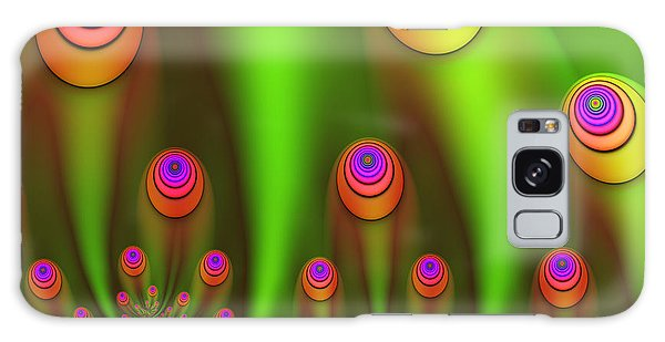Fractal Fantasy Garden Galaxy Case by Gabiw Art