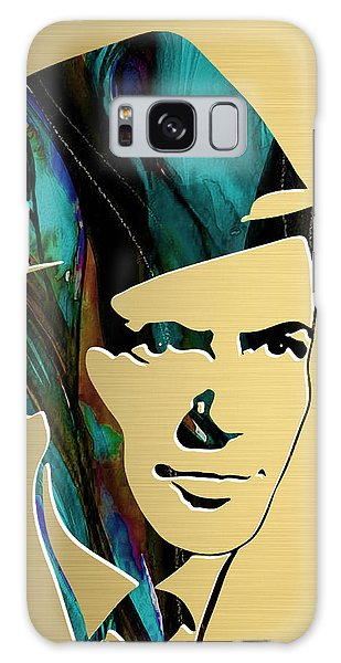 Frank Sinatra Gold Series Galaxy Case by Marvin Blaine