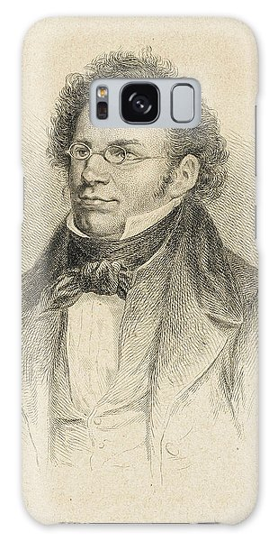 Schubert Galaxy Case - Franz Schubert  Austrian Composer by Mary Evans Picture Library