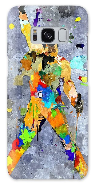 Freddie Mercury Galaxy Case by Daniel Janda