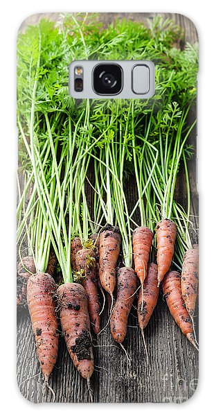 Rustic Galaxy Case - Fresh Carrots From Garden by Elena Elisseeva