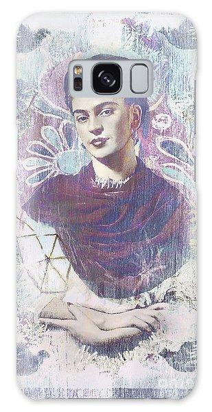 Frida Galaxy Case by Elena Nosyreva