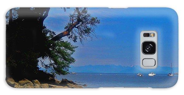 Gabriola Island Scene Galaxy Case