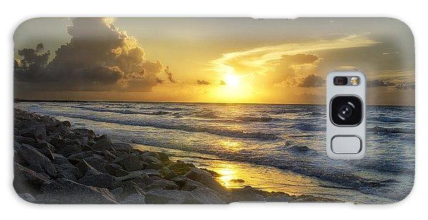 Galveston Sunrise Galaxy Case