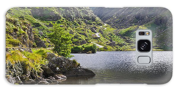 Gap Of Dunloe Lake Galaxy Case by Jane McIlroy