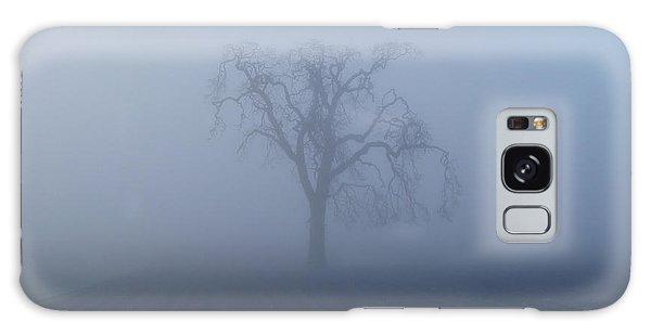 Garry Oak In Fog  Galaxy Case