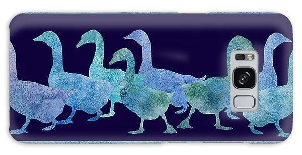 Geese Batik Galaxy Case