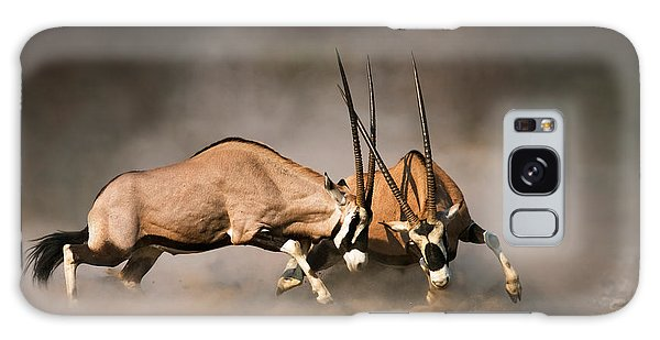 Gemsbok Fight Galaxy Case
