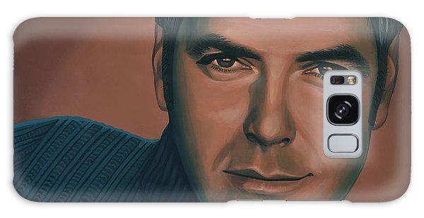 Clayton Galaxy Case - George Clooney Painting by Paul Meijering