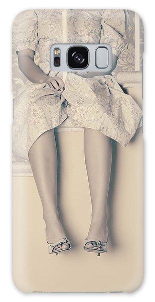 Banister Galaxy Case - Girl On Steps by Joana Kruse