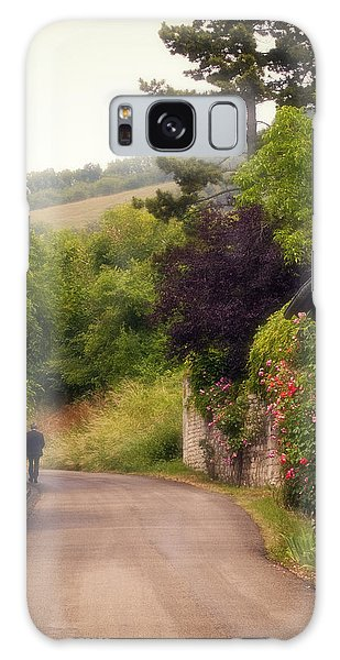 Giverny Country Road Galaxy Case