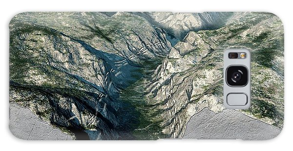 Kings Canyon Galaxy Case - Glacier-carved Kings Canyon by Nicolle R. Fuller
