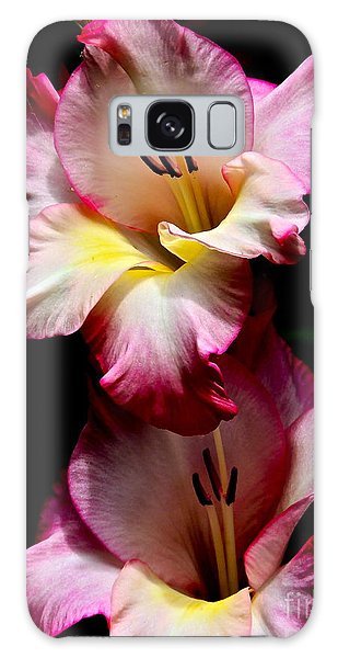 Gladiolus Beauty Galaxy Case by Eve Spring