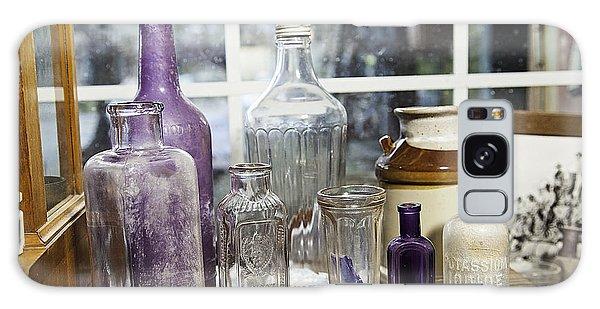 Glass In The Window  Galaxy Case