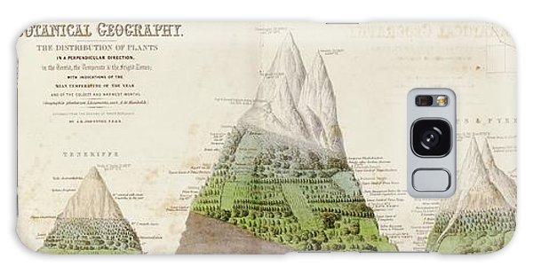 Global Botanical Geography Galaxy Case