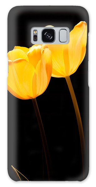 Glowing Tulips II Galaxy Case