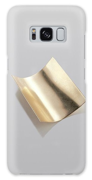 Metal Leaf Galaxy Case - Gold Sheet by Science Photo Library