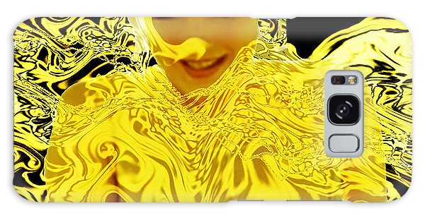 Golden Goddess Galaxy Case