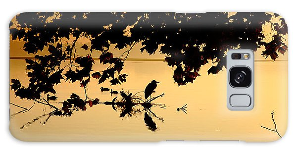 Golden Morning II Galaxy Case