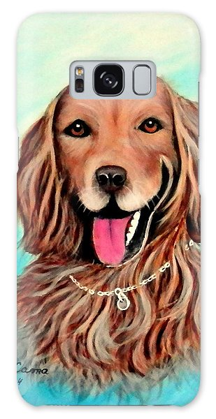 Golden Retriever Galaxy Case by Fram Cama