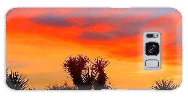 Golden Valley Sunset Galaxy Case