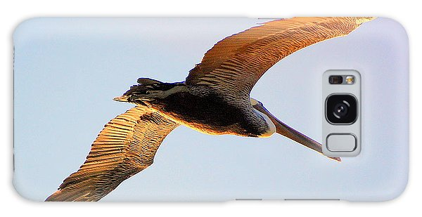 Golden Wings Galaxy Case by AJ  Schibig
