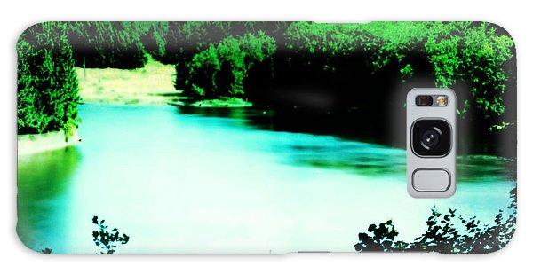 Gorge Waterway Victoria British Columbia Galaxy Case by Eddie Eastwood