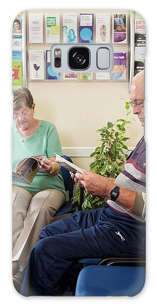 Patient Galaxy Case - Gp Surgery Waiting Room by Jim Varney