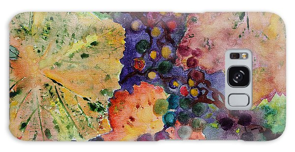 Grapes And Leaves Galaxy Case