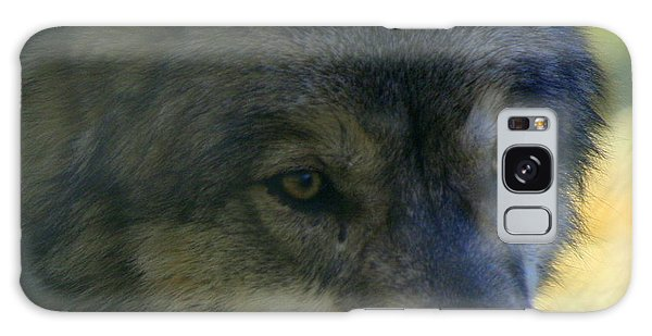 Gray Wolf Galaxy Case by Neal Eslinger