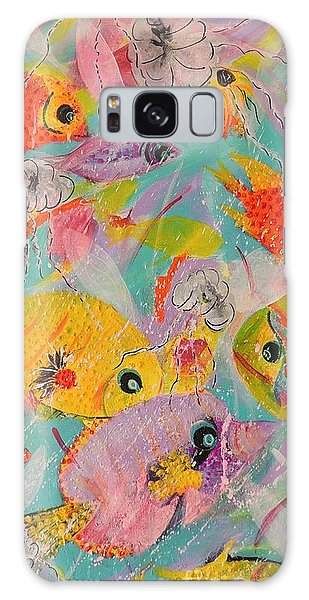 Great Barrier Reef Fish Galaxy Case