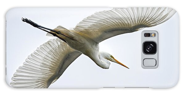 Great Egret Galaxy Case by Brad Grove