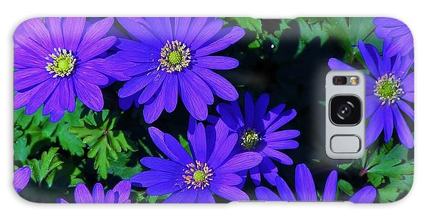 Grecian Wildflowers Galaxy Case by John Wartman