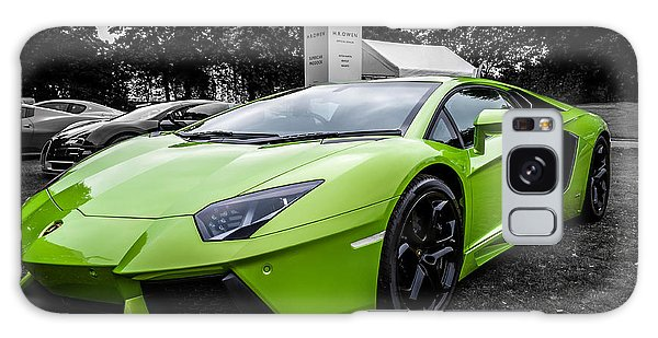 Green Aventador Galaxy Case